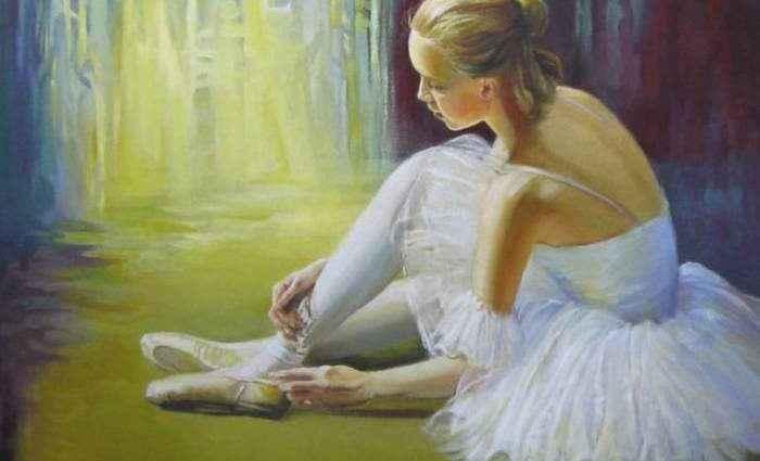 Современный румынский художник. Elena Oleniuc 1