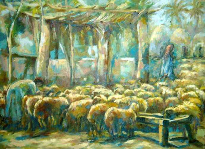 Египетский художник. Eman Hakim 5