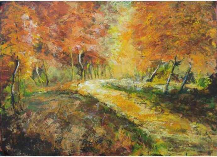 Болгарский художник. Emilia Milcheva 206