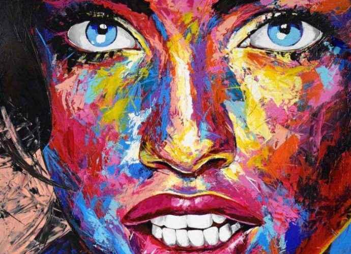 Портреты в стиле поп-арт. Eugen Dick 72
