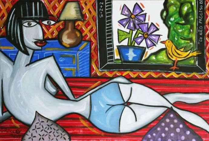 Бразильский художник. Gabriel Grecco 420