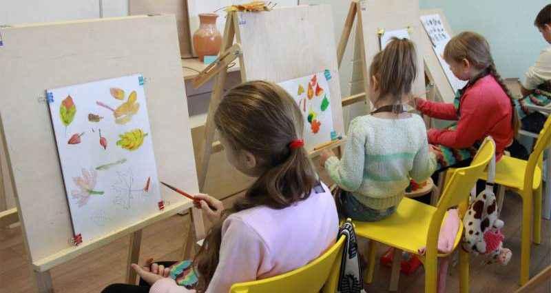 Учимся рисовать: изостудия для детей 1