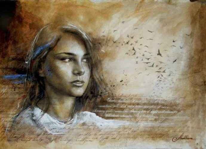 Грузинский художник. Giorgi Makharashvili 22