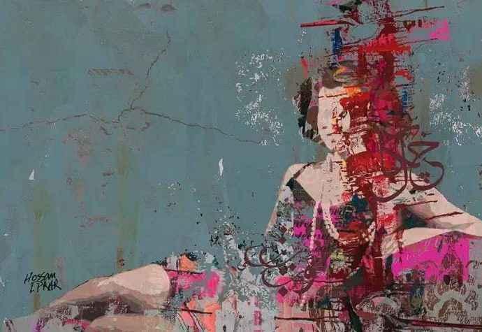 Египетский художник. Hossam Dirar 1