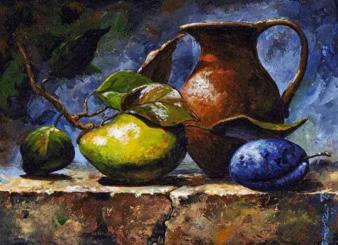 Венгерский художник. Imre Toth (Emerico) 114