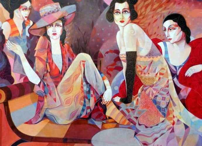 Болгарский художник. Ivo Petrov 188