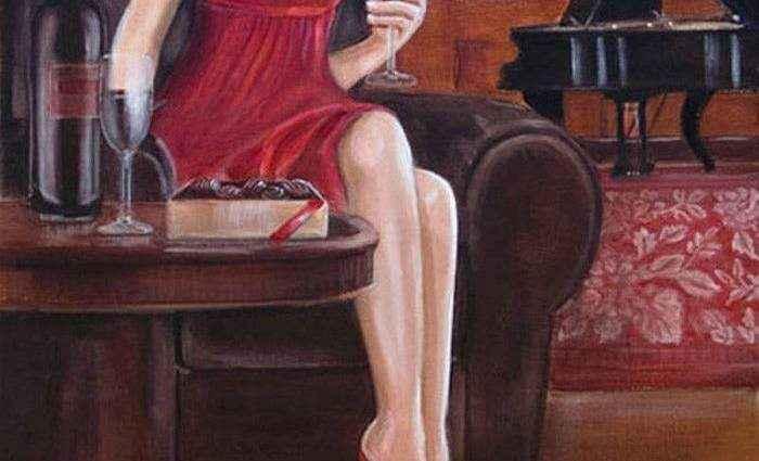 Американский художник. Jacqui Faye 1
