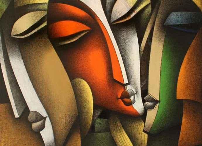 Индийский художник. Jagannath Paul 215