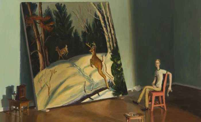 Фигуративный живописец. Jansson Stegner 1