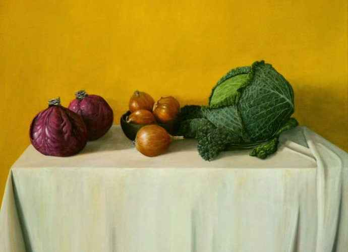 Чилийский художник. Jorge Zamora Navarro 5