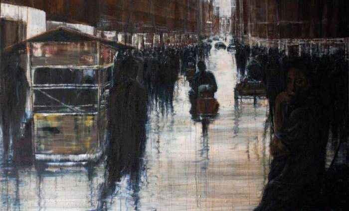 Британский художник. Lesley Oldaker 1