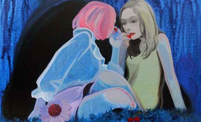 Масляная живопись. Liu Chenyang 1
