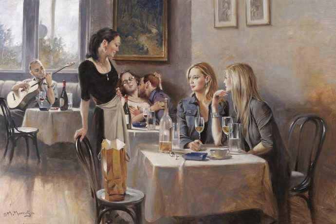 Египетский художник. Maher Morcos 11
