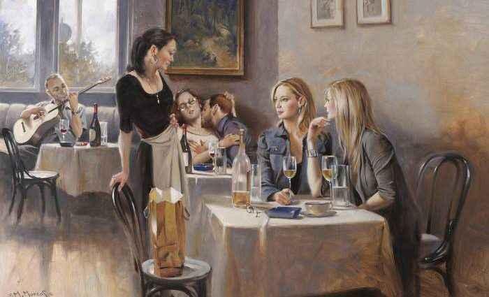 Египетский художник. Maher Morcos 1