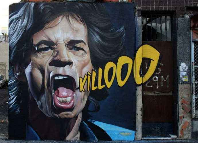 Уличный художник из Испании. Man O Matic (стрит арт) 328