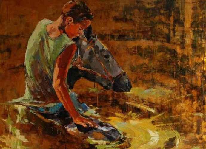 Польский художник. Marcin Mikolajczak 16