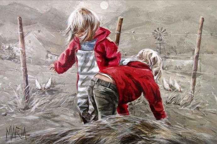 Южноафриканский художник. Maria Oosthuizen 41