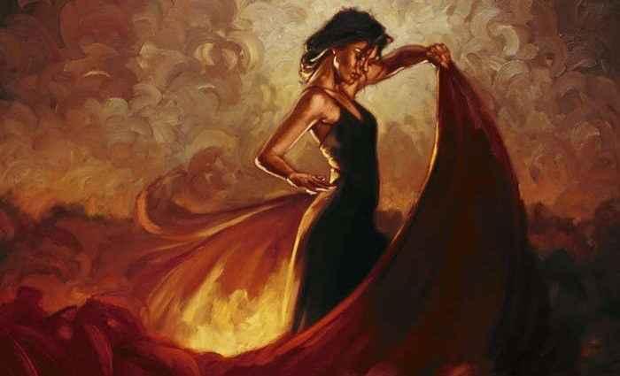 Энергичный и творческий художник. Mark Spain 1