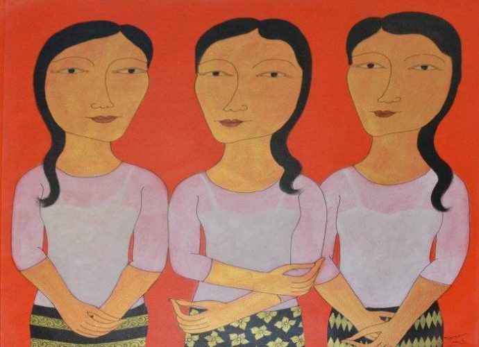 Красные женщины. Min Zaw 3
