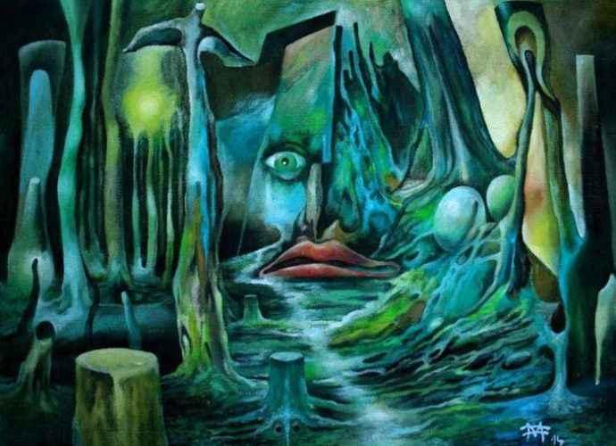 Словацкий художник. Miro Foltin 27