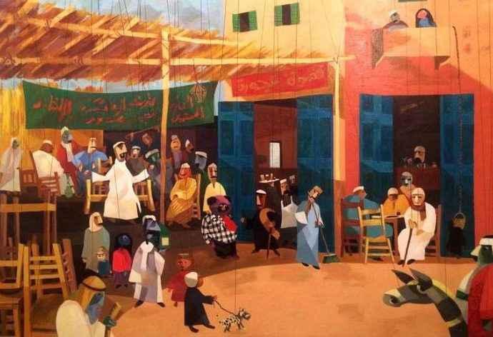 Сочетание реализма и абстракции. Mohamed Abou Elwafa 9