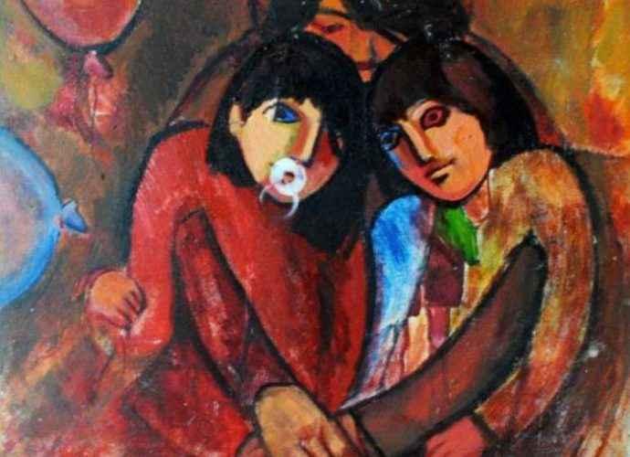 Азербайджанский художник. Najmaddin Huseynov 34