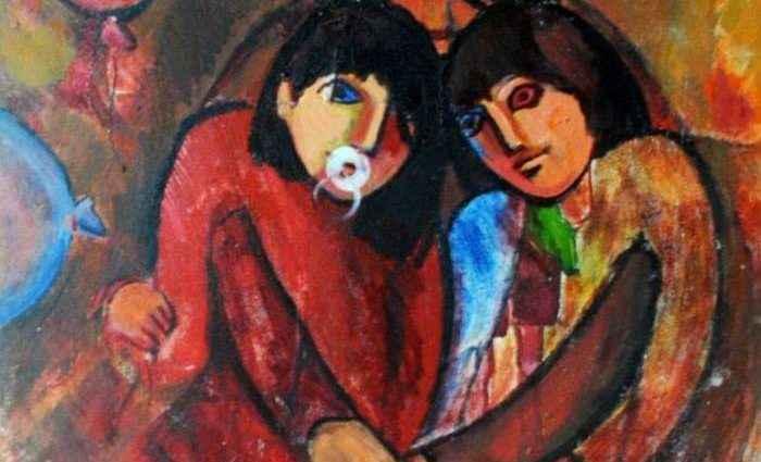 Азербайджанский художник. Najmaddin Huseynov 1
