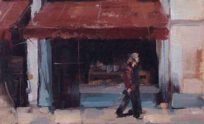 Мир масляной живописи. Ollie Le Brocq 1