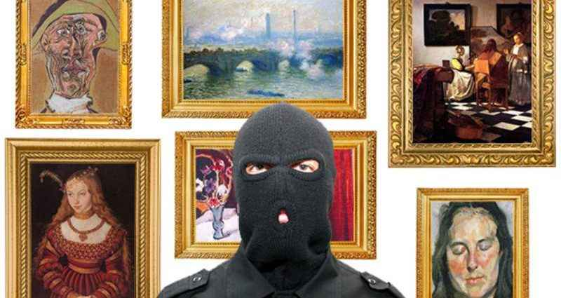 Шедевр пропал: рейтинг краж произведений искусства 1