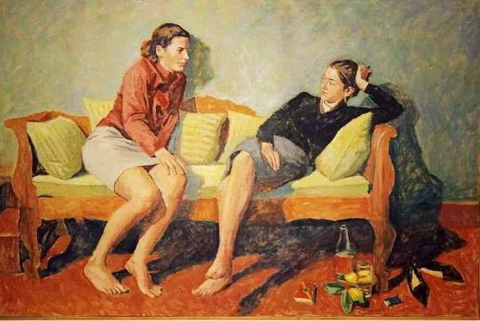 Греческий художник. Pavlos Samios 110