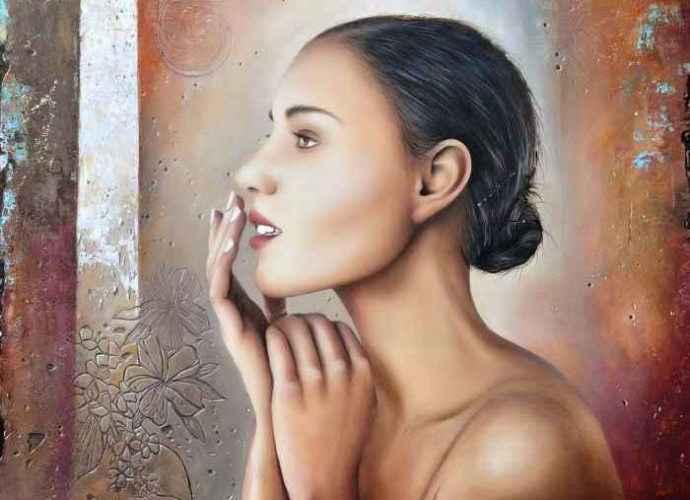 Алжирский художник. Rekouane Kamel 11