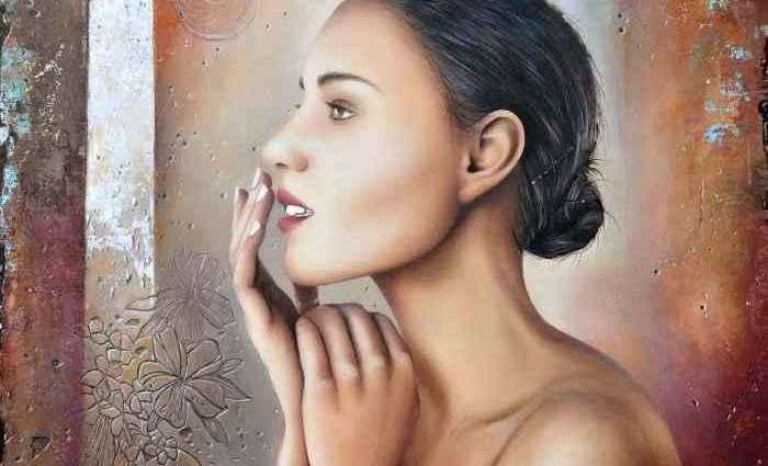 Алжирский художник. Rekouane Kamel 1