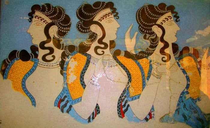 Женщины в живописи. От древности до нашего времени 1