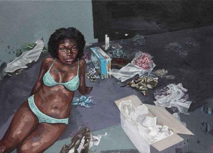 Колумбийская художница. Rossina Bossio 119