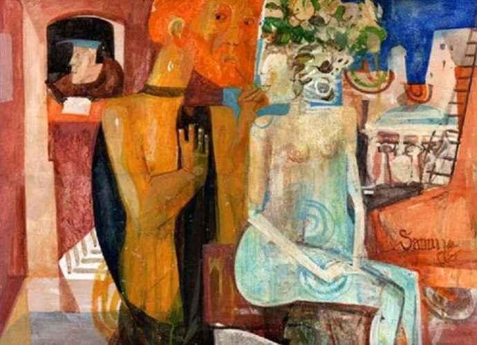 Армянский художник. Samuel Gareginyan 40