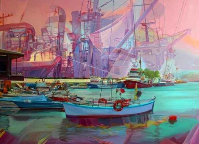 Турецкая художница. Selda Eren 148