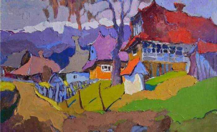 Украинский художник. Александр Шандор 1