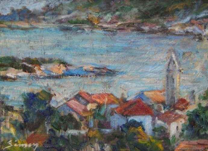 Хорватский художник. Sinisa Simon 62