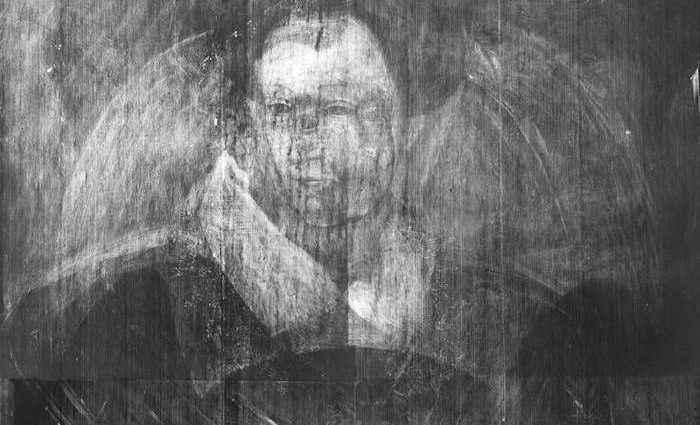Призрачный портрет Марии Стюарт 1