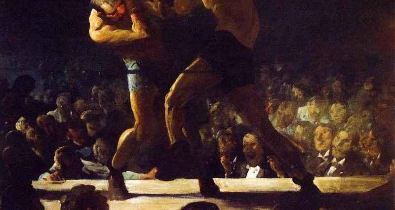 Искусство живописи и бокс - взаимосвязь 1