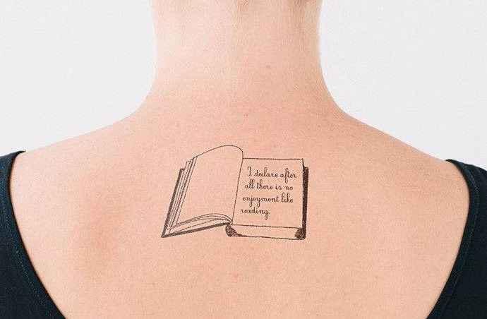 Искусство слова и боди-арт. Литературные татуировки 50