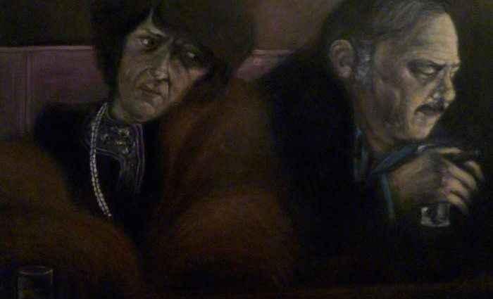 Испанский художник. Adrian GoMa 1