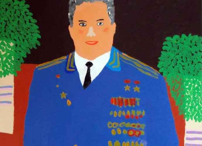 Наивный поп-арт. Alan Fears 70