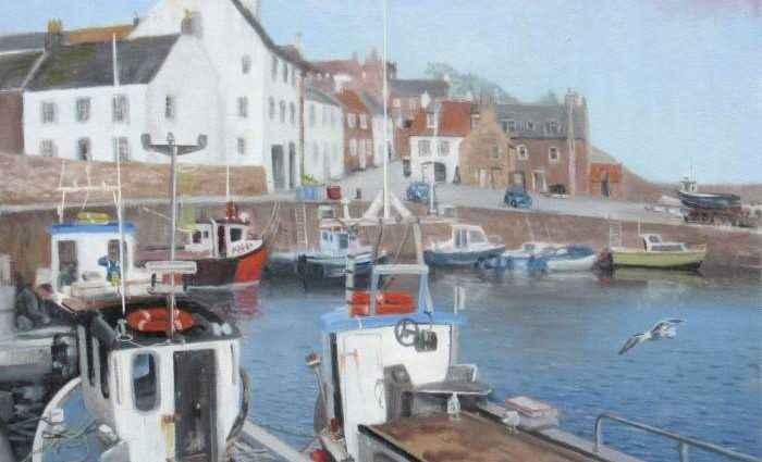 Британский художник. Alan Stephens 1
