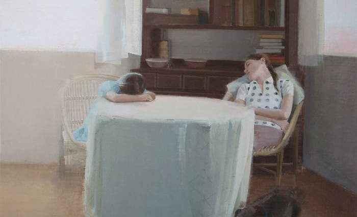 Меланхолия и одиночество. Alejandra Caballero 1