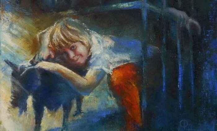 Польский художник. Aleksandra Lis 1