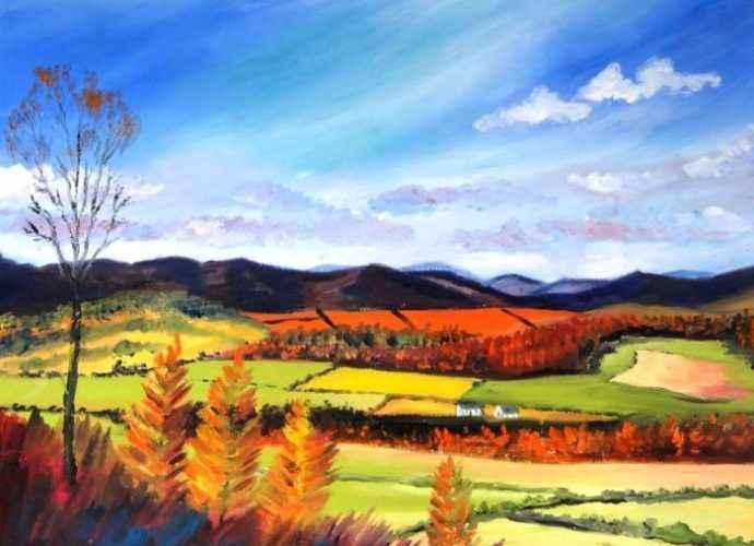 Яркие цвета. Шотландский художник. Alice Stuart 141