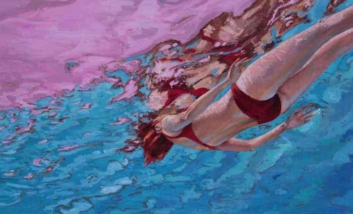 Испанский художник. Amanda Arrou-Tea 1