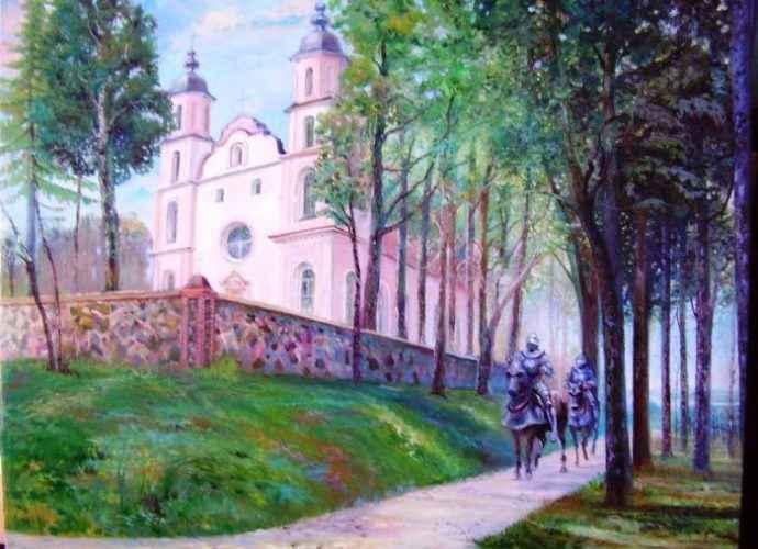 Литовский художник. Andrej Denisenko 78