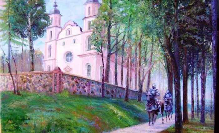 Литовский художник. Andrej Denisenko 1